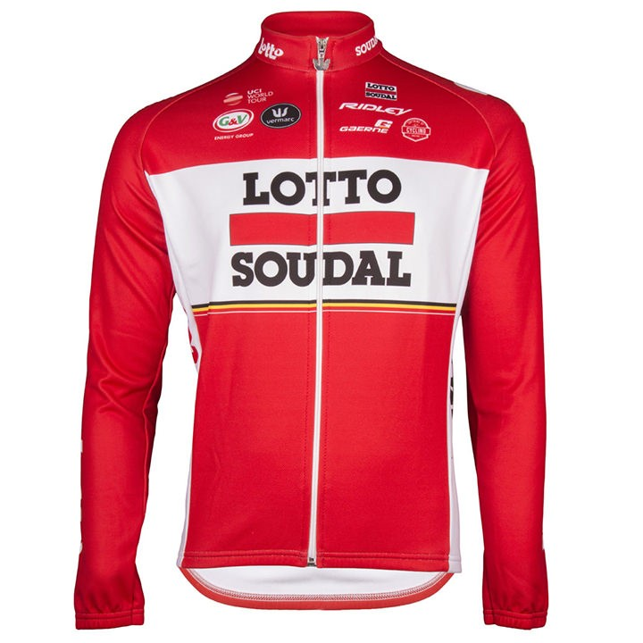 2017 Maillot manches longues LOTTO SOUDAL