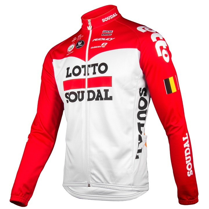 2018 Maillot manches longues Lotto Soudal