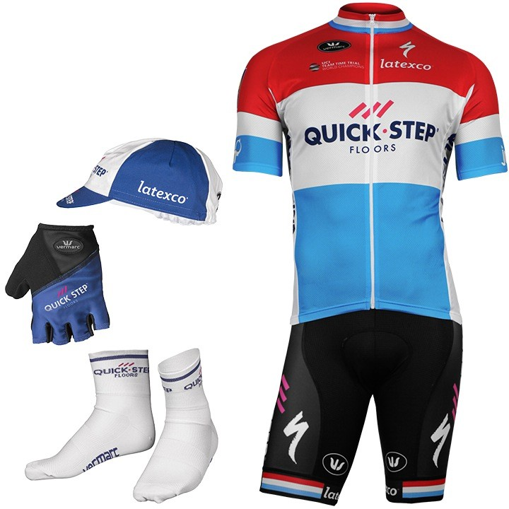2017-2018 Maxi-Set (5 pièces) QUICK-STEP FLOORS Champion luxembourgeois