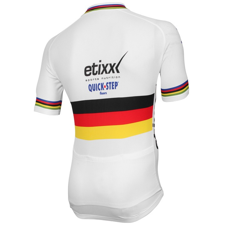 2015 Set (2 pièces) ETIXX-QUICK STEP Champion du contre la montre allemand