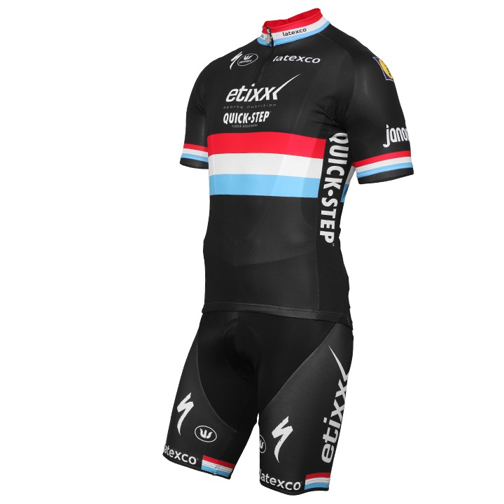 2016-2017 Set (2 pièces) ETIXX-QUICK STEP Champion luxembourgeois