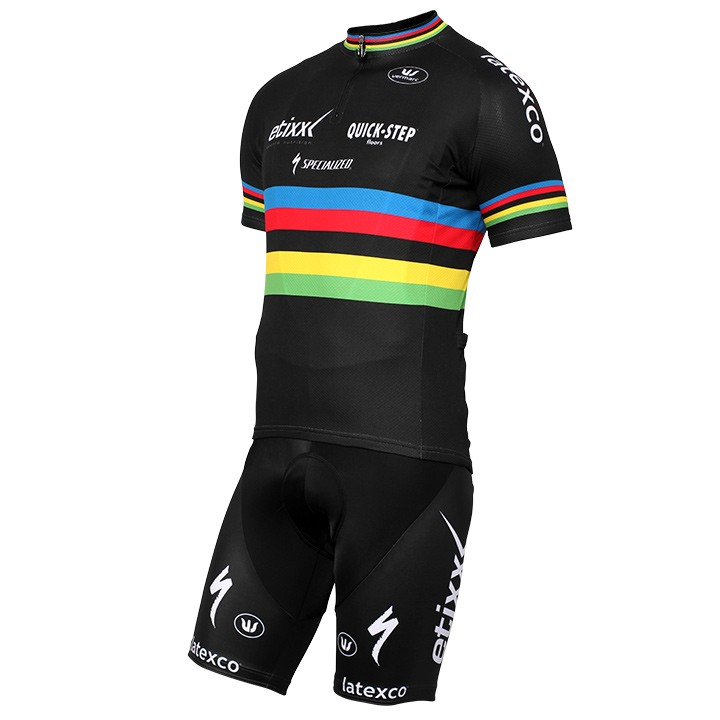 2015-2016 Set (2 pièces) ETIXX-QUICK STEP World Champion noir