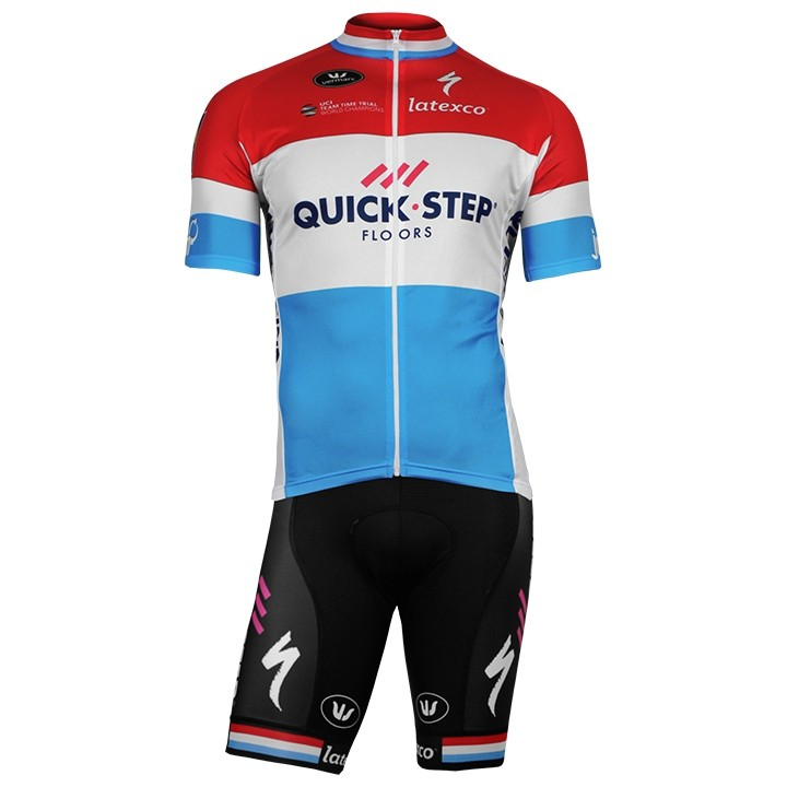 2017-2018 Set (2 pièces) QUICK-STEP FLOORS Champion luxembourgeois