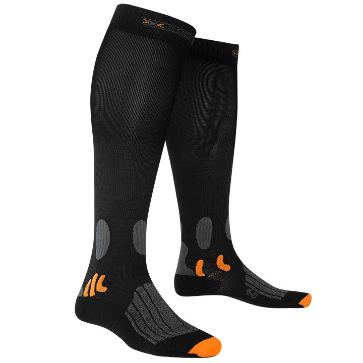 Mi-bas de contention X-SOCKS Mountain Biking Energizer noirs