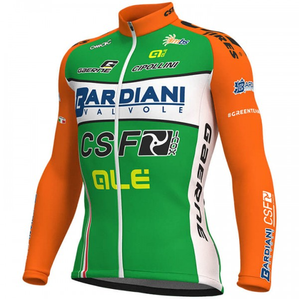 2018 Maillot manches longues BARDIANI CSF - Équipe Cycliste Professionnelle