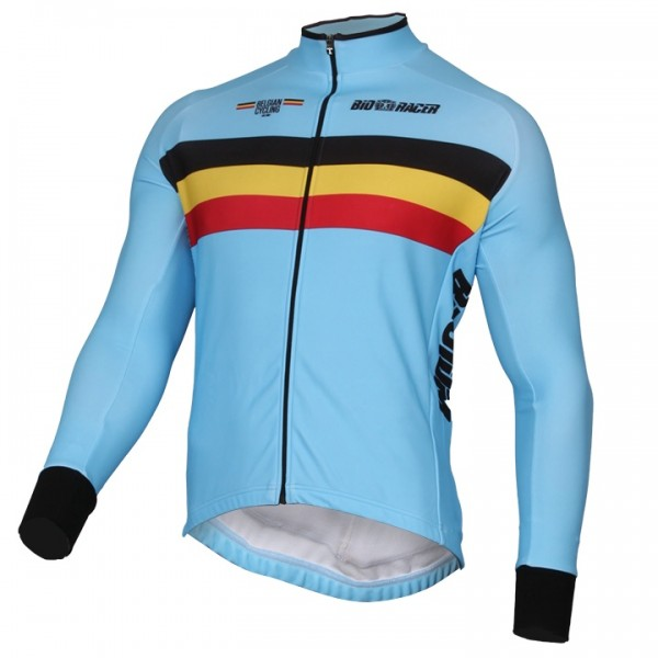 2019 Maillot manches longues EQUIPE NATIONALE BELGE - Équipe Cycliste Professionnelle