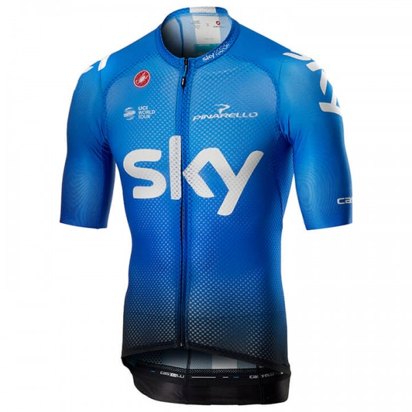 2019 Maillot manches courtes Team Sky Climber's Training - Équipe Cycliste Professionnelle