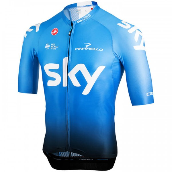 2019 Maillot mangas cortas Team Sky Aero Training - Équipe Cycliste Professionnelle